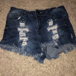 Pants - Holy jean shorts